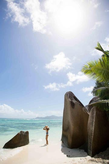 Anse Source d'Argent, La Digue, Seychelles. Foto: National Geographic