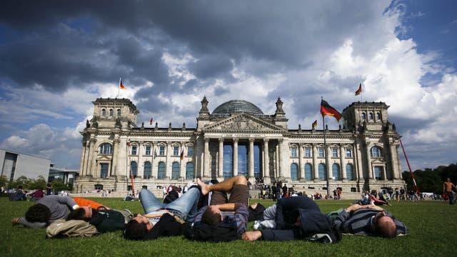 Con vista al Reichstag y la nueva cúpula de cristal diseñada por Norman Foster