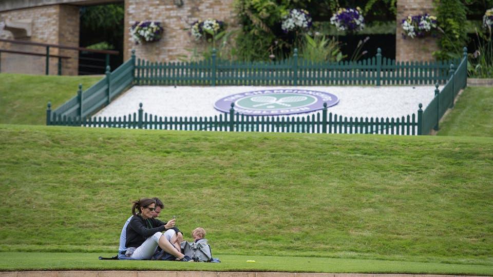 Un paseo por All England. Foto: AELTC