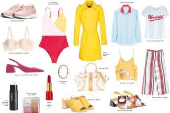 Catálogo de moda y belleza trendy