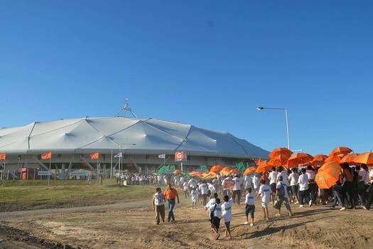 Allí se podrán realizar espectáculos futbolísticos de alta competición, eventos públicos, artísticos y culturales. Foto: DyN