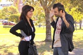 Loli (Nancy Dupláa) y Andy (Daniel Hendler) saben que no pueden estar juntos mientras ella siga con Pablo (Cáceres)