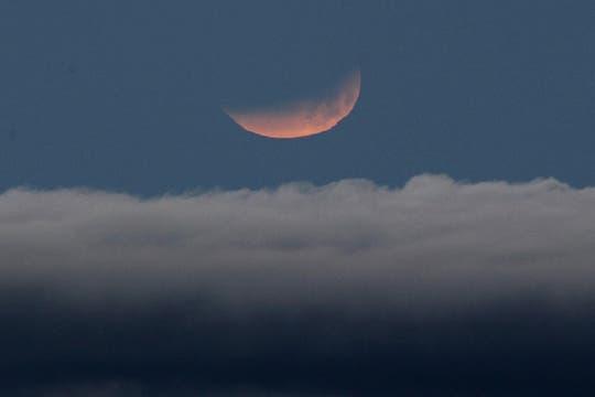 El parque nacional del Teide, en Tenerife, ha sido el único lugar de Europa donde ha sido visible el eclipse. Foto: EFE