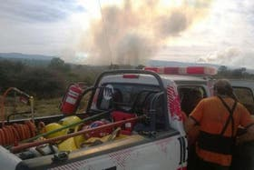 Siguen los incendios en las sierras cordobesas y hay algunos evacuados