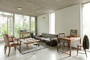 Cemento y mármol, dos clásicos para los pisos de tu casa