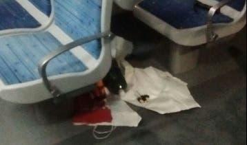 Incendio intencional en el tren Roca