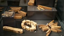 Los palos se hacían con madera de sauce