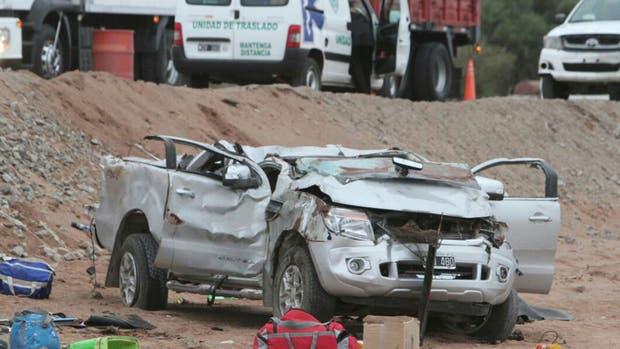 Otra tragedia en Mendoza: volcó una camioneta en la ruta y murieron tres nenes