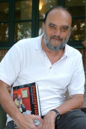 Fontanarrosa, en un retrato de hace diez años