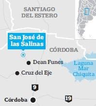 La ubicación de la Salina