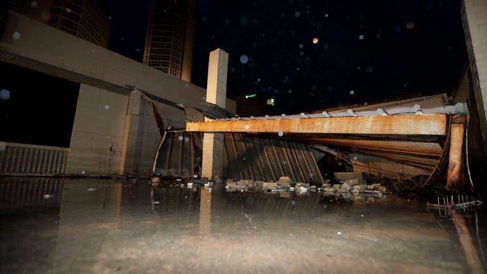 En fotos: el paso del huracán Harvey por la costa de Texas. Foto: AP / Eric Gay