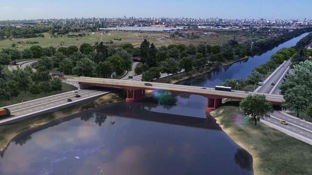 El puente tendrá paso peatonal y ciclovía
