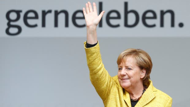 Angela Merkel por su cuarto mandato