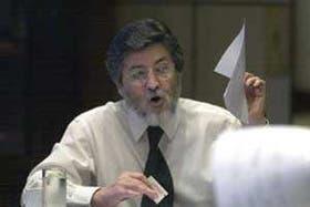 Alberto Abad, al presentar ayer la nueva factura