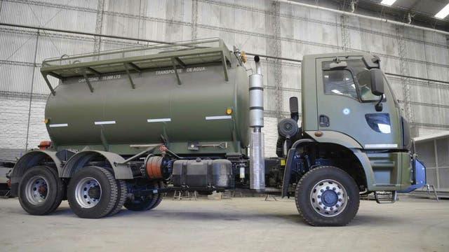 Los camiones serán usados para ayudar en caso de catástrofe