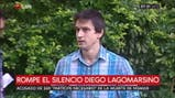 """Diego Lagomarsino: """"No tengo nada que ver con eso que dice el juez"""""""