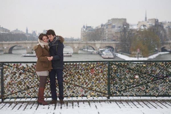 Pont des Arts, París. Foto: Corbis