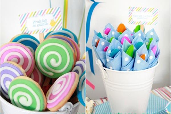 Todos los productos son artesanales y personalizados. Foto: Fotos: Gentileza Party Go!/ Ahoratambienmama.blogspot.com