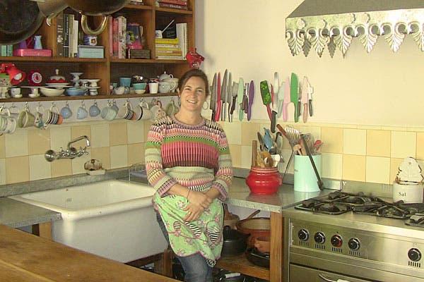 Juliana nos recibió en su cocina. Foto: Cecilia Wall