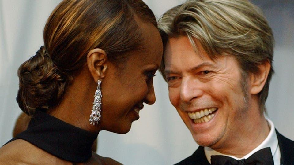 David Bowie e Iman, un amor que duró más de 20 años