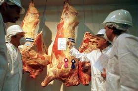 Buena demanda para la carne argentina