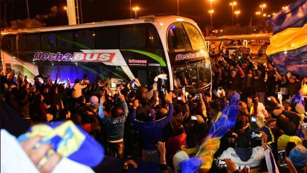 Una multitud recibió a Boca en Formosa