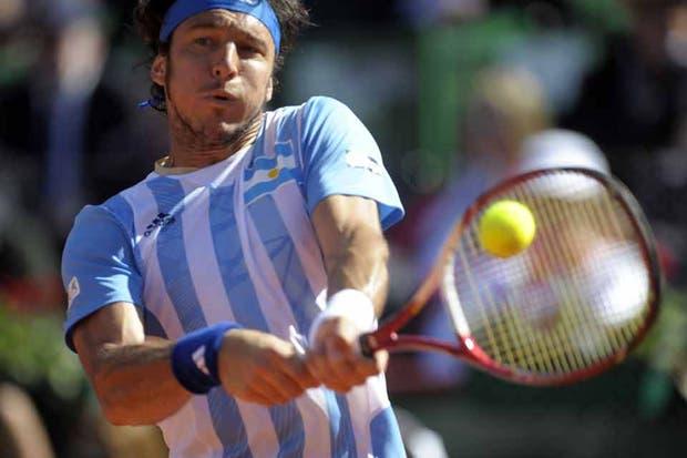 La Argentina derrotó a Francia por 3 a 2 y es semifinalista de la Davis.  Foto:Télam
