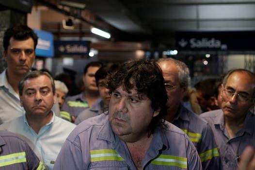 Segovia dialogó con la prensa. Foto: LA NACION / Aníbal Greco