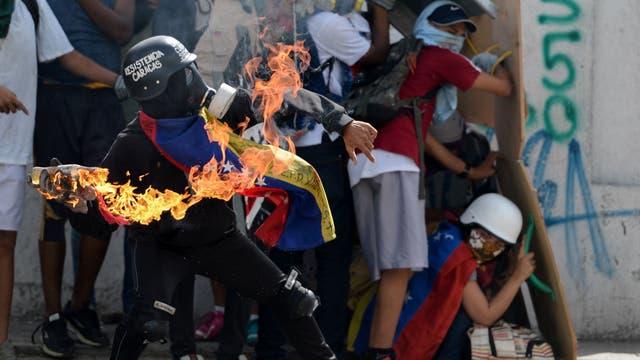 Venezuela protesta desde el 1 de abril de este año