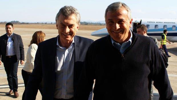 Macri fue ayer a Jujuy en un Tango