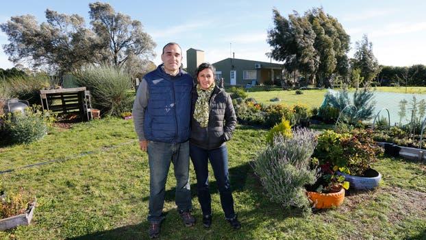 Daniel Tonelli y Patricia Béliz viven en Faro desde 2015. Foto: LA NACION / Ricardo Pristupluk