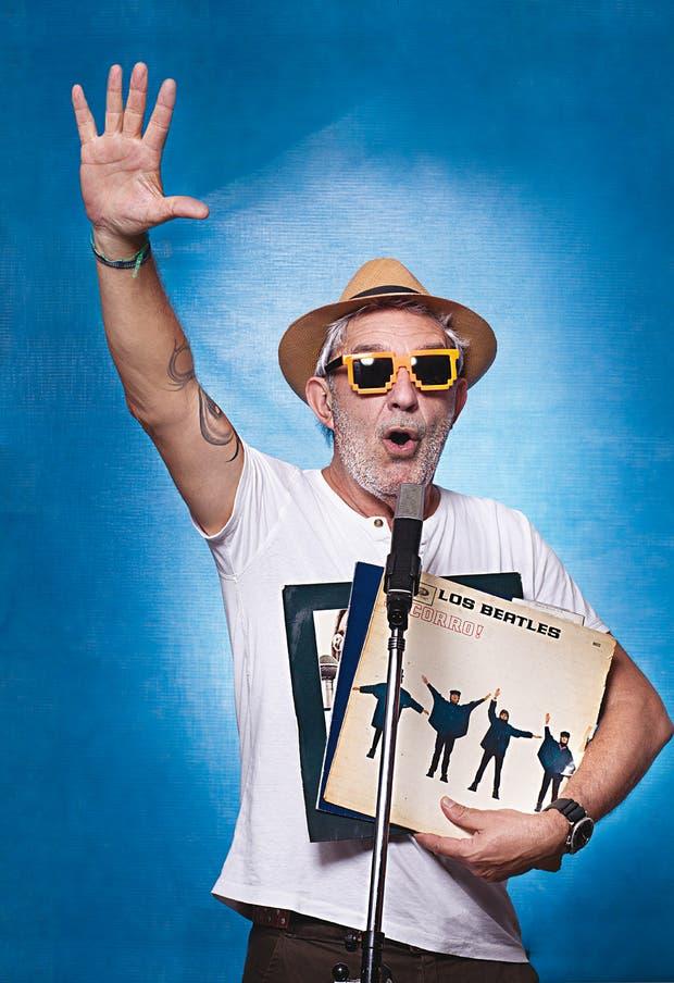 Lalo es el animal de radio por definición: así se llamó su programa, que marcó el pulso de los 90 en Rock & Pop