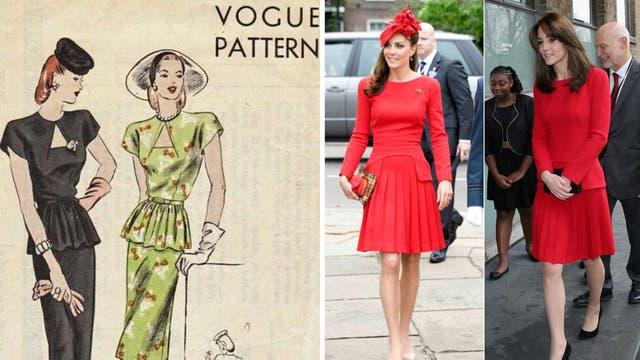 El estilo péplum entró a la moda en los años 20 de la mano de Vogue