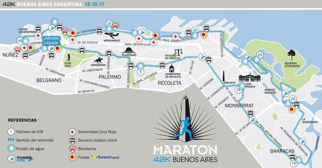 Cicuito renovado para los 42k de Buenos Aires