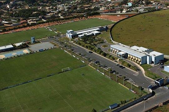 Una vista aérea del complejo que podría ocupar Argentina durante la Copa del Mundo.