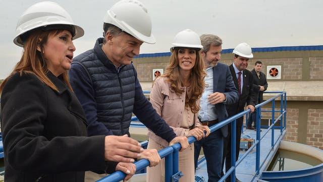 Macri junto a Margarita Barrientos inaugura un comedor en Santiago del Estero