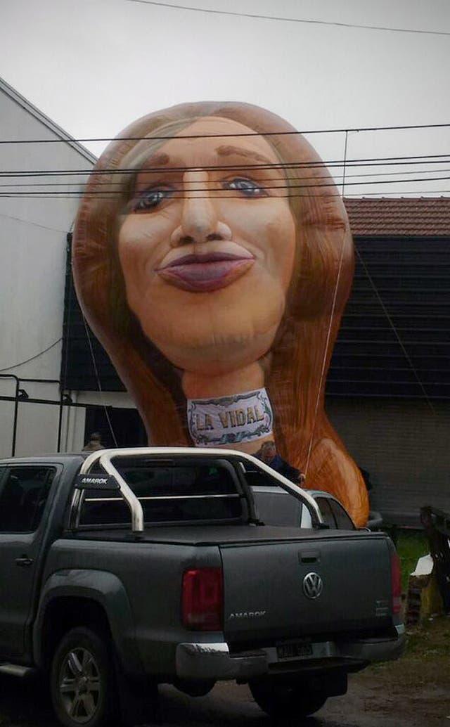 El extraño inflable de Vidal