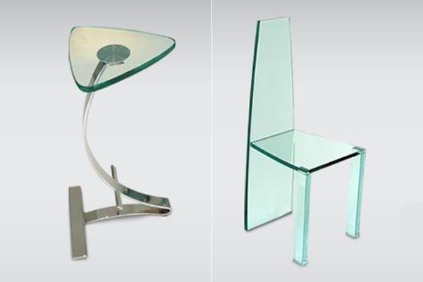 calidez al vidrio lo podemos combinar con muebles de cuero o madera
