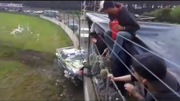 El terrible accidente de Barucca — TC Pista