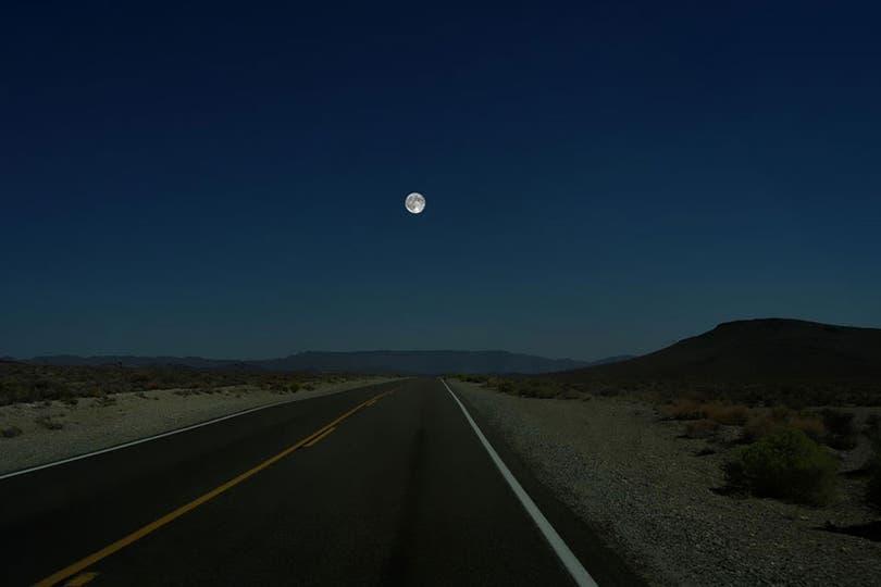 La vista de la Luna.