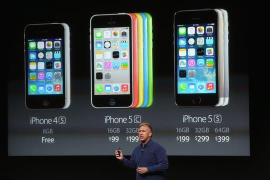 El iPhone 5 no se hará más; el equipo de gama media será el 5C. Foto: AFP