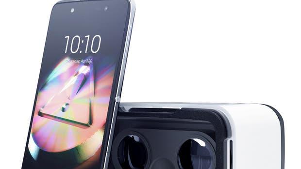 El Idol 4, de Alcatel, viene con un visor de realidad virtual