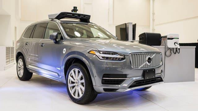 La compañía también se asoció con Volvo para desarrollar vehículos autónomos