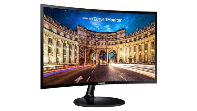 El monitor Samsung Essential Curved de 32 pulgadas
