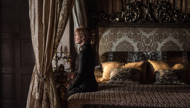Cersei Lannister parece preocupada