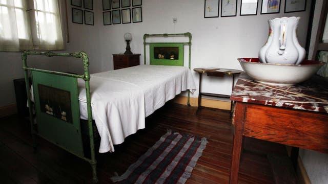 Habitación en la que se alojó el escritor francés Antoine de Saint Exupery, autor de El Principito
