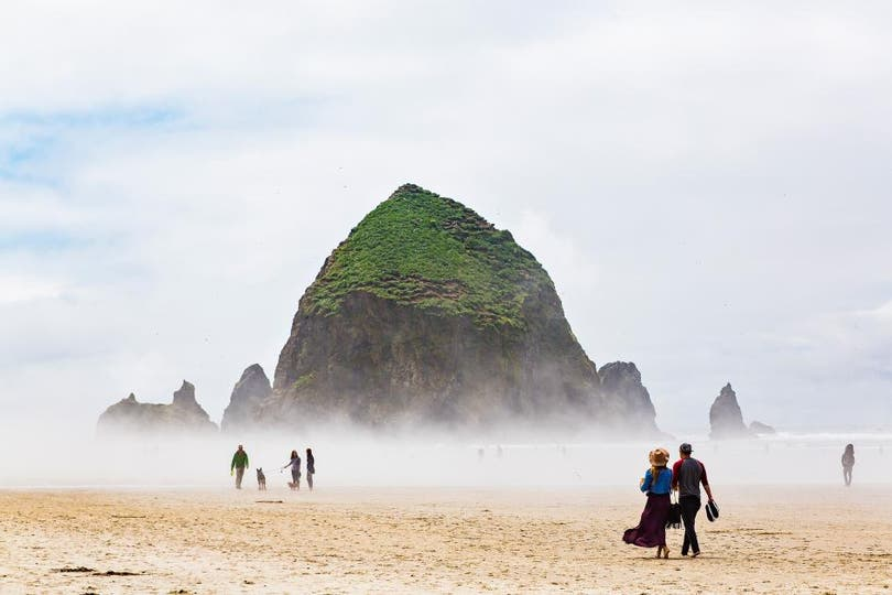 Cannon Beach, Oregon, Estados Unidos. Foto: National Geographic