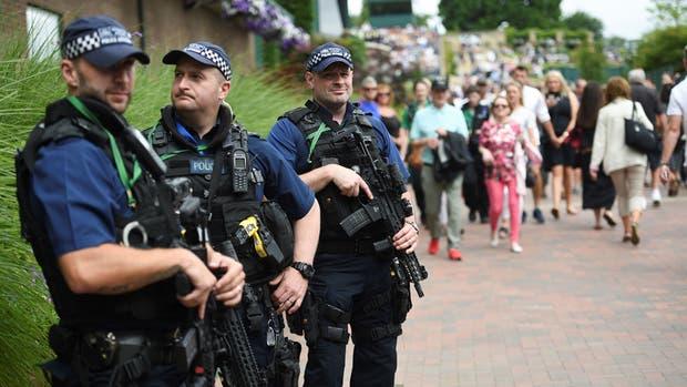 Maxima seguridad en Wimbledon