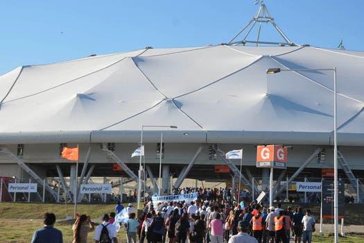 Inaugurado el 7 de junio de 2003, el estadio de La Plata es el más moderno de Latinoamérica. Foto: DyN