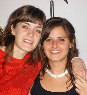 Lucila junto a Solange, una de las últimas fotos entre ambas